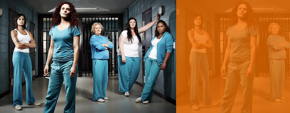 5位 ウェントワース女子刑務所